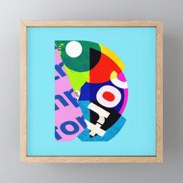 D Framed Mini Art Print