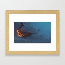 Lovløs Framed Art Print