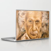 einstein Laptop & iPad Skins featuring Einstein by Les Joanneries & Jacques Lajeunesse