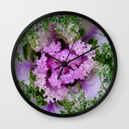 Decorative cabbage pattern Wall Clock