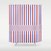 hong kong Shower Curtains featuring Hong Kong Style  by HK Chik