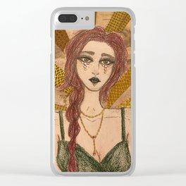 Stargirl Clear iPhone Case
