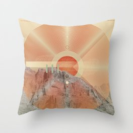 Not knowing when the dawn will come #everyweek 49.2016 Throw Pillow