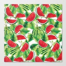 Fresh Watermelon Canvas Print