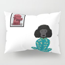 Poodle in a Onesie Pillow Sham