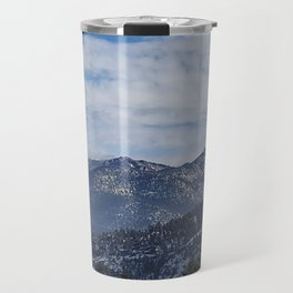 The Mountains of Lake Tahoe Travel Mug