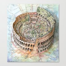The Colosseo City Canvas Print