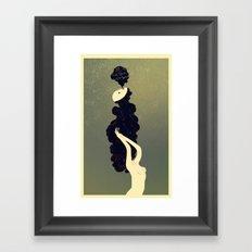 The Air Was Dense With Spirits Framed Art Print