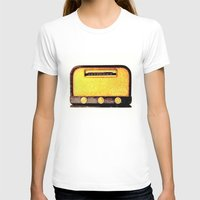 radio T-shirts featuring Old Radio by Mr and Mrs Quirynen