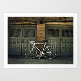 Berkeley Bicycle Art Print