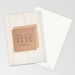 bums. . who'd have em! Stationery Cards