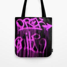 Puke Pink Tote Bag