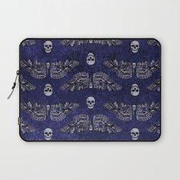 Deathshead Moth and Skulls Laptop Sleeve