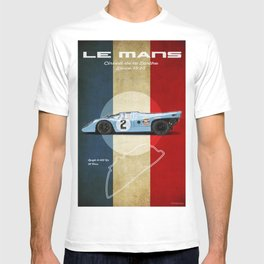 Le Mans Racetrack Vintage T-shirt