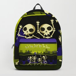 """""""Don't Stop, Don't Stop The Dance (Halloween Party)"""" Backpack"""