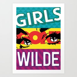 Girls Gone Wilde Art Print