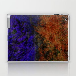 Colored Rusty Abstract Grunge Texture Print Laptop & iPad Skin