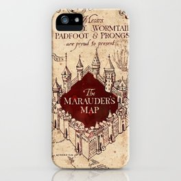 TheMarauders Map iPhone Case