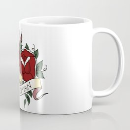 Nasty Woman and Roses Tattoo Flash Coffee Mug