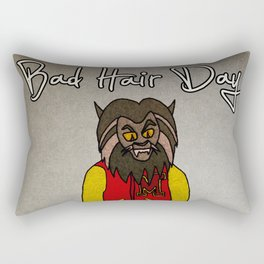 bad hair day no:5 / Thriller Rectangular Pillow