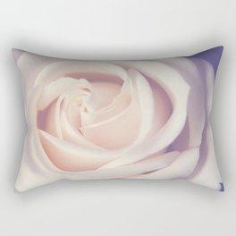 An Offering White Rose Rectangular Pillow