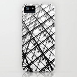 Grand Louvre Pyramids iPhone Case
