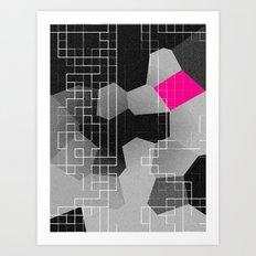 Disruption Art Print