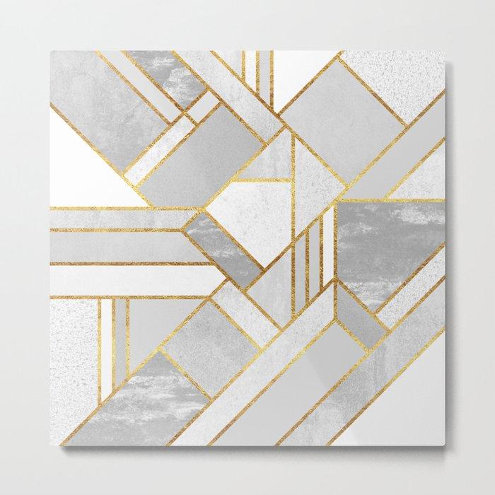 Gold City Metal Print