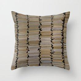 Booking Throw Pillow