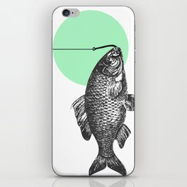 mint bubble iPhone Skin