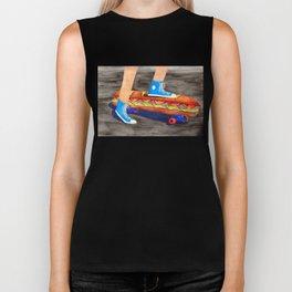 Sub Sandwich Skateboard Biker Tank