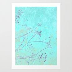 Oriental flair Art Print