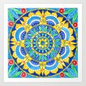 Sunflower Mandala by shelleyylstart