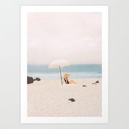 Beach Morning II Art Print
