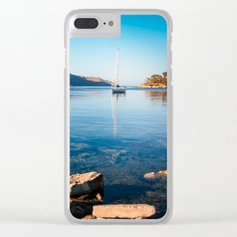 Silent Waters - Kalymnos Clear iPhone Case