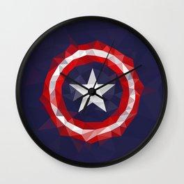 Meduzzle: Capitan's America Geometry Wall Clock