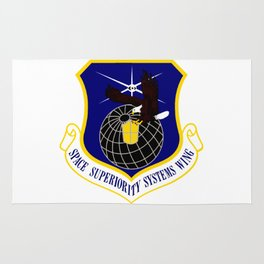 Superiority Systems Wing (SYSW) Crest Rug