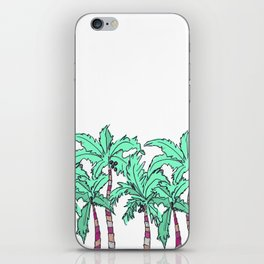 Tropical Palm Trees iPhone Skin