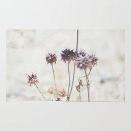 Purple Desert Wildflowers Rug