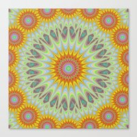 sun Canvas Prints featuring Sun by David Zydd