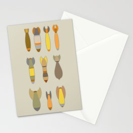 Array of Bombs Stationery Cards