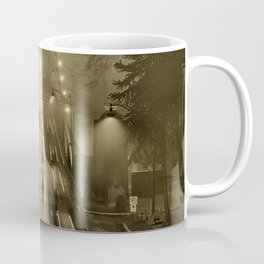 Lions Gate in the Fog 02 Coffee Mug