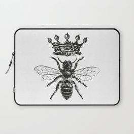 Queen Bee | Black and White Laptop Sleeve