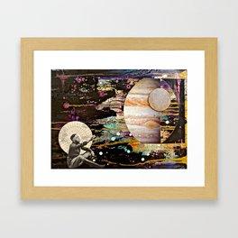 Reaching for Jupiter Framed Art Print
