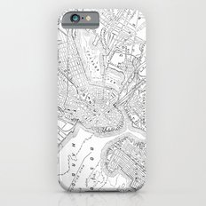 Vintage Map of Boston (1878) iPhone 6 Slim Case
