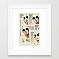 iggy azalea Framed Art Prints featuring Iggy by Mari Vasilescu