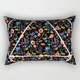 Tringle in the flowers Rectangular Pillow