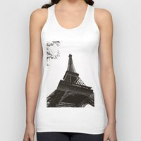 eiffel Tank Tops featuring eiffel by samantha lawson