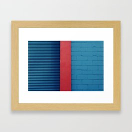 Primary Framed Art Print
