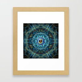 """Om Namah Shivaya"" Mantra- The True Identity- Your self Framed Art Print"